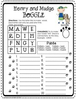 Journeys SECOND Grade BOGGLE: Unit ONE by The Primary