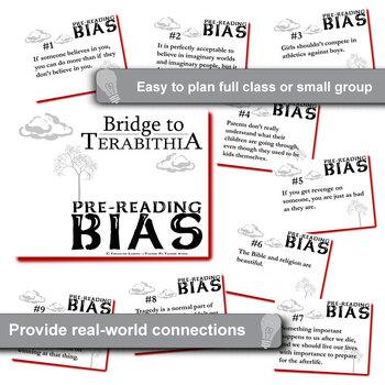 THE BRIDGE TO TERABITHIA PreReading Bias by Created for