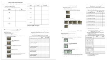 BUNDLE! Graphing Calculator Tutorials 1-8 and Practice
