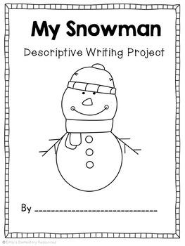 Wonderful Winter {Winter/Snowman Writing ELA Literacy