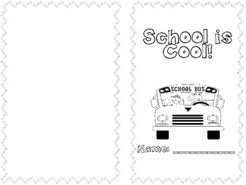 Back To School First Week of Fun Packet by What's The Buzz