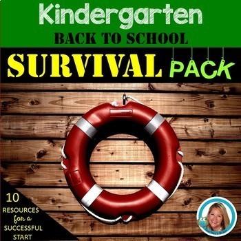 Back To School NEW Kindergarten Teacher SURVIVAL PACK
