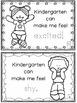 Back To School- The Night Before Kindergarten FUN Learning
