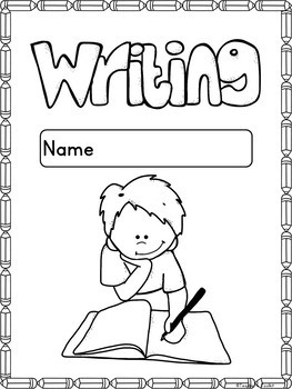Monthly Writing Prompts Progression/Assessment {editable