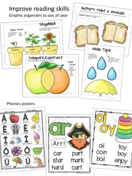 Back to School Activities 2nd Grade Bundle by The