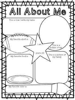 Back to School! (Common Core Aligned Activities for