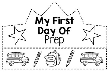 Back to School- First Day of School Crowns by Pyle's