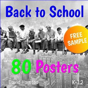 free back to school bulletin board