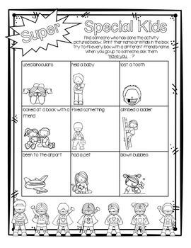 Back to School Superhero Printables by Grade One Snapshots