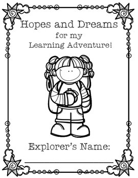 Hopes and Dreams- Adventure Themed Packet! {Goal Setting