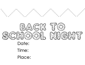 Back to School Night Crown All Grades, PreK, TK