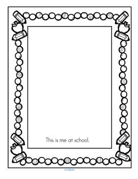 Back to School Printables NO PREP Preschool, Pre-K, Early