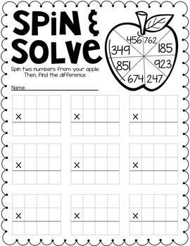 Back to School Printables {Multiplication Edition} by The
