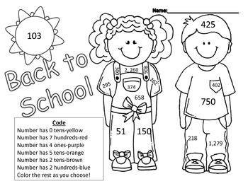 Back to School Third Grade Review Activities! Common Core
