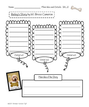 Bailey's Story Literature Guide (Common Core Aligned) by