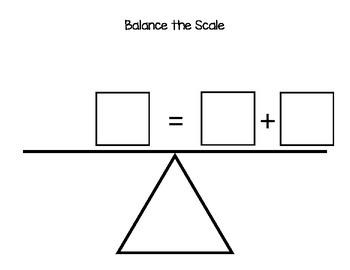 Balanced Equations Balance Scale Sheet Protector Dry Erase
