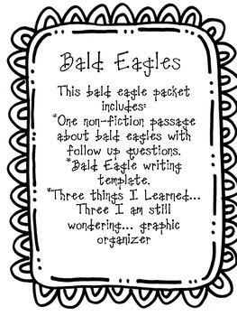 Bald Eagles Non-Fiction by Second Grade Facts and Fairy