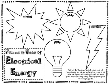Basic Electricity Resources & Activities by Tangled with