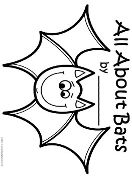 FREE Bat Writing Template Craft with Lines by Primary