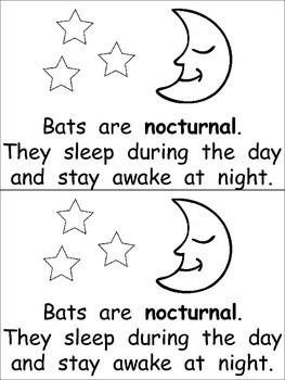 Bats- Nonfiction Leveled Reader- Level C by Melissa