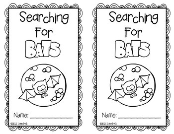 Bats in the Night by Kindergarten Inspiration by Lynn Back