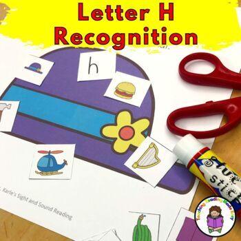 Letter H Worksheets-15 Beginning Sound Letter of the Week
