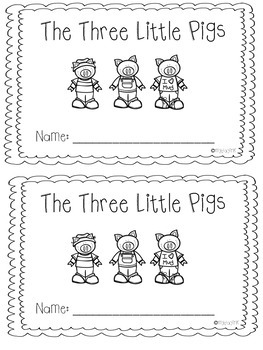 Beginning, Middle, End Using The Three Little Pigs by My