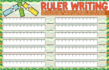Beginning of the Year School Spelling Activities for ANY