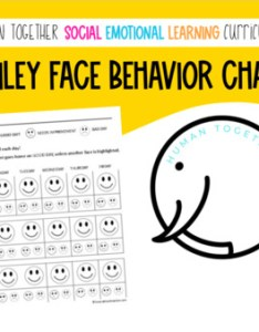 also behavior chart for pre  kindergarten first grade smiley faces rh teacherspayteachers