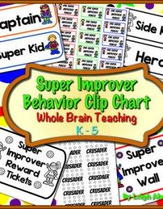 Super improver behavior clip chart whole brain teaching by leigh ahrendt also rh teacherspayteachers