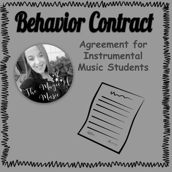 Behavior Contract for Instrumental Students by The Magic