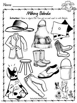 Belinda by Pamela Allen Worksheets by Teaching Bright