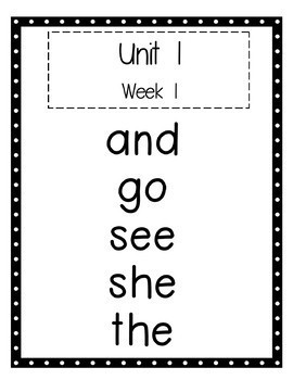 Benchmark Advance 1st Grade High Frequency Word Set by