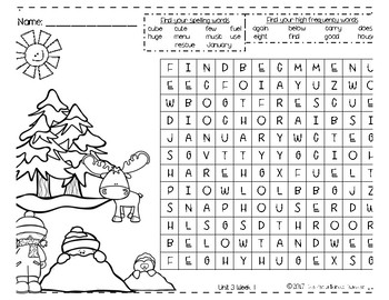 Benchmark Advance Word Search Unit 3 by The Pez-a-licious