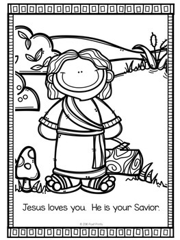 Bible Activity Worksheets, Early Finishers, Freebie by