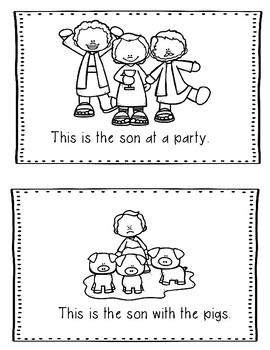 Prodigal Son Bible Lesson (All About Series) (Preschool