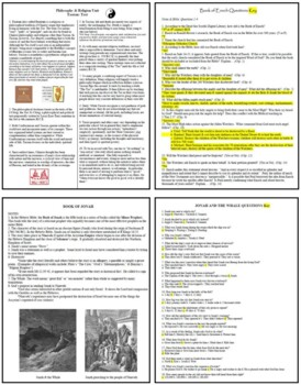 75 Bible as Literature Lesson Plans or Activities by Plato