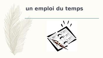 Bien Dit 3 Chapitre 1 Vocabulary PowerPoint by jer520 LLC