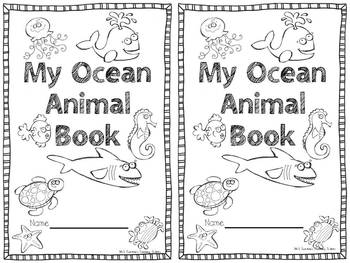 Big Blue Ocean A Science, math, and Literacy Unit by