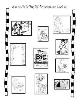 Big Chickens Activity Packet by Once Upon a Creative
