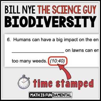 Bill Nye Biodiversity Video Worksheet Ideas Of Animal The