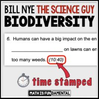 Bill Nye Biodiversity Video Worksheet Ideas Of Animal The