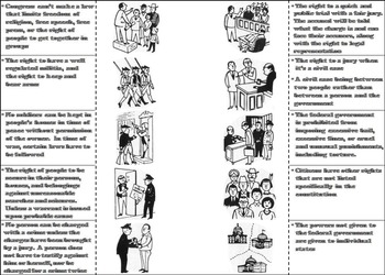 Bill of Rights Activity (American Government: US