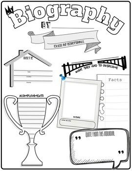 Biography Planning Sheet (Amazing Free Resource)****** by