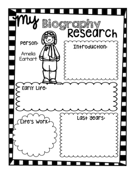 Biography Research Reports--Using Pebble Go by Teach Talk