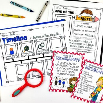 Biography Report Templates and Outlines for Research