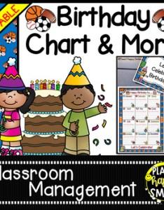 also birthday chart in  sports theme editable by planet happy smiles rh teacherspayteachers