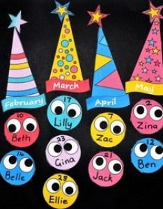 Birthday charts for the classroom free and editable also by teachezy tpt rh teacherspayteachers