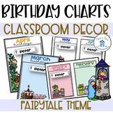 Birthday Chart Editable Teaching Resources