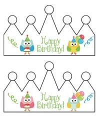 Birthday Chart: Owls (Editable) by Karen Cox